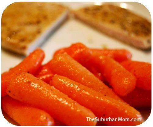 Spicy Nutmeg Carrots
