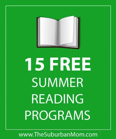 15 Free Kids Summer Reading Programs