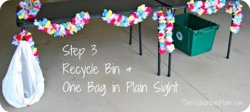 Glad One Bag Challenge Step 3