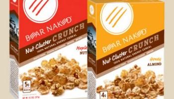 Free kashi cinnamon harvest cereal or kashi tlc peanutty dark.