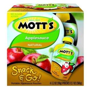 Motts Snack Go Applesause