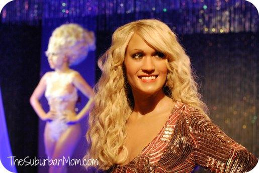 Madame Tussaud's Carrie Underwood Lady Gaga