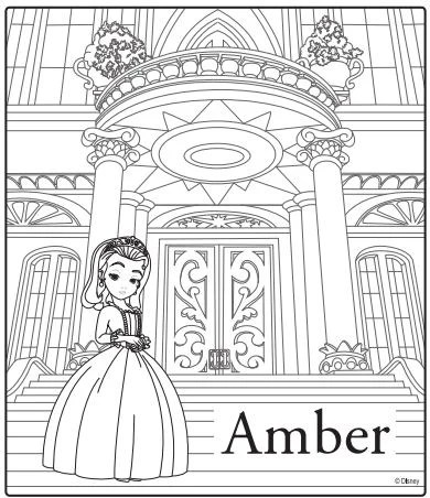 Sofia The First Premiere Party Ideas & Coloring Sheets