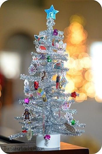 Shrinky Dink Christmas Tree