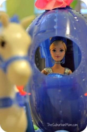 Disney Princess Cinderella Transforming Pumpkin Carriage Doll