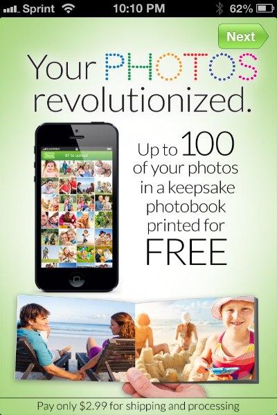 Groovebook Free Printed Photobook