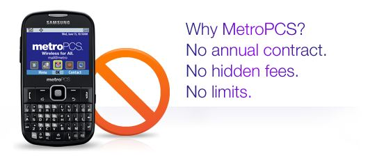 Metro PCS no annual contract