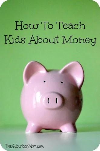 Piggy Bank Teach Kids Money