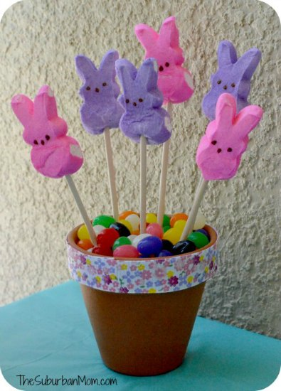 Easter Peeps Centerpiece Craft