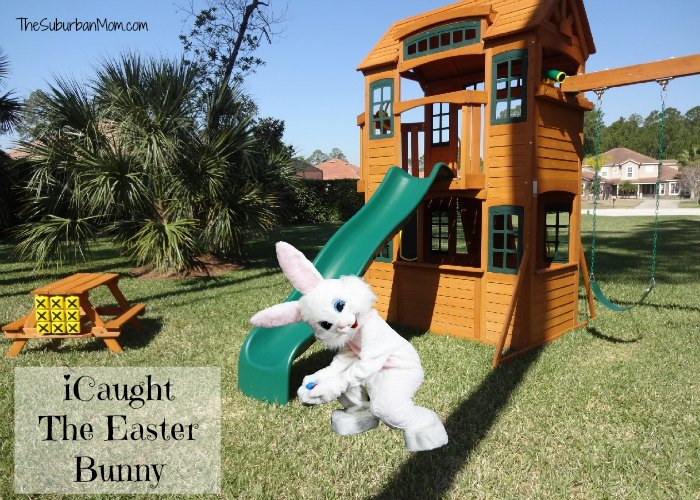 iCaught The Easter Bunny Photo