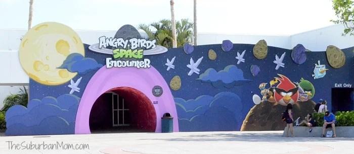 Angry Birds Space Encounter Kennedy Space Center Florida