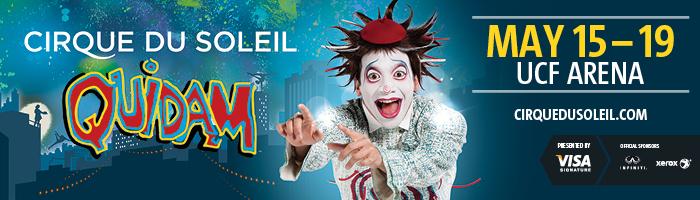 Cirque du Soleil Quidam UCF