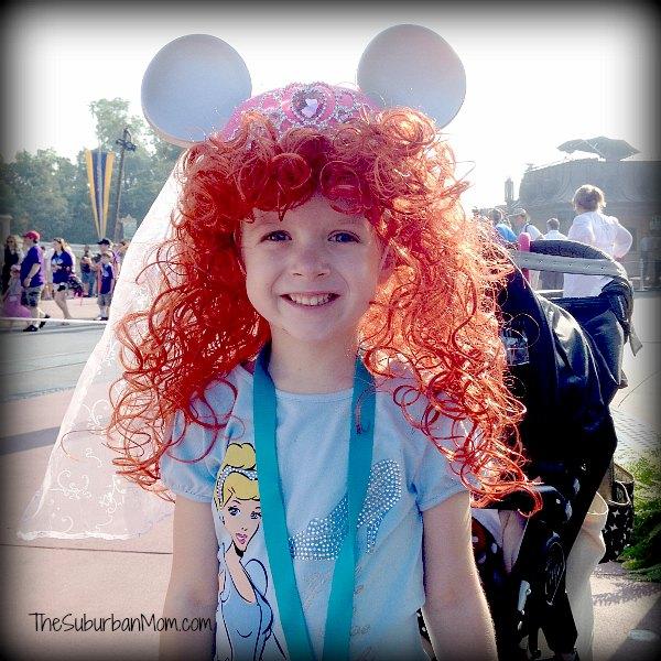 Princess Merida Wig