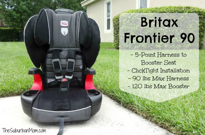 Britax Frontier 90 Harness Booster Seat ClickTight