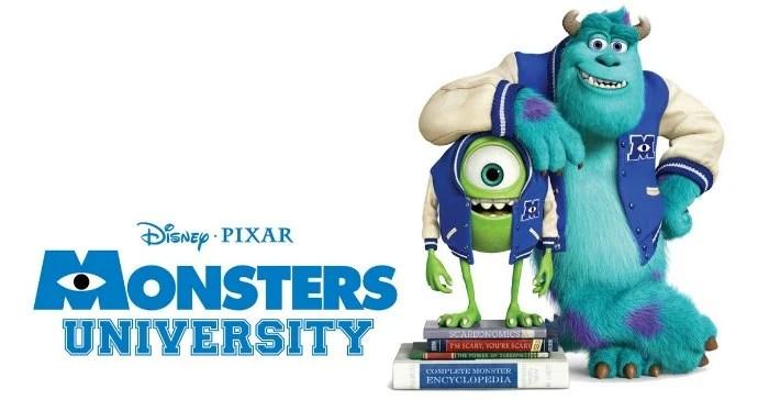 Disney PIxar Monsters University