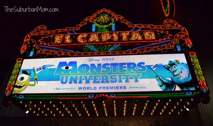 Monsters University El Capitan