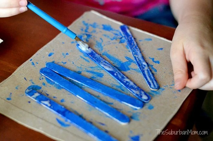 Popsicle Stick Kids Craft