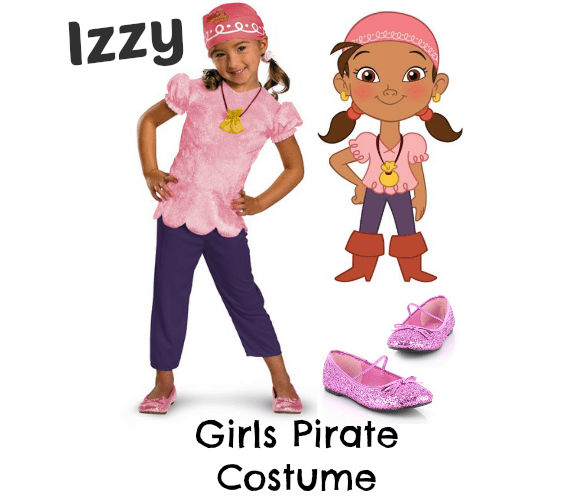Izzy Pirate Costume Disney Cruise