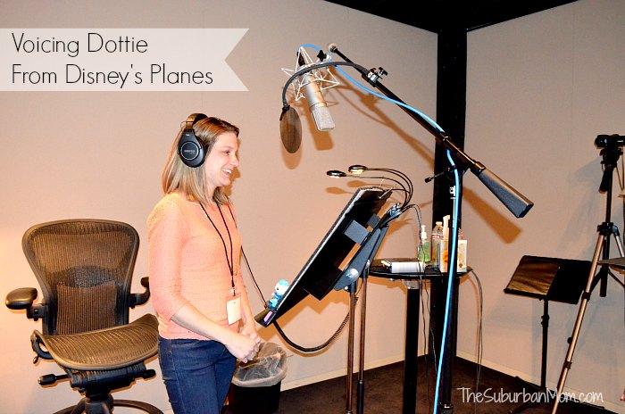 Voicing Dottie Disney Planes
