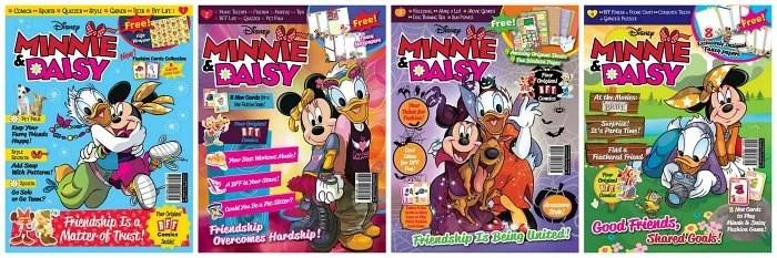 Disney's Minnie & Daisy Best Friends Forever Magazine