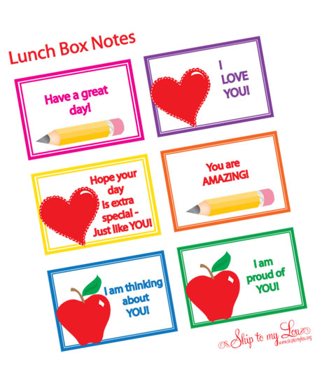 LunchBoxNotes