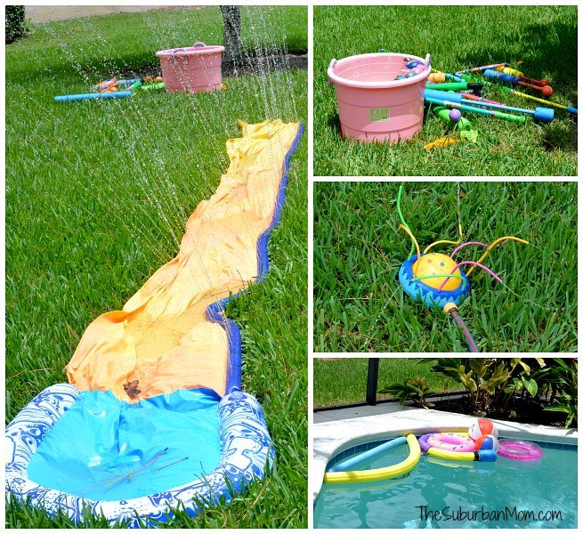 Popsicle Pool Water Party