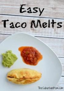Easy Taco Melts Pillsbury Grands