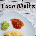 Easy Taco Melts Pillsbury Grands