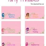 Free Strawberry Shortcake Party Printables