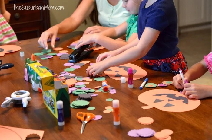 Halloween Kids Craft Assembly