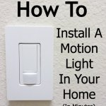 How To Install a Motion Light In Your Home