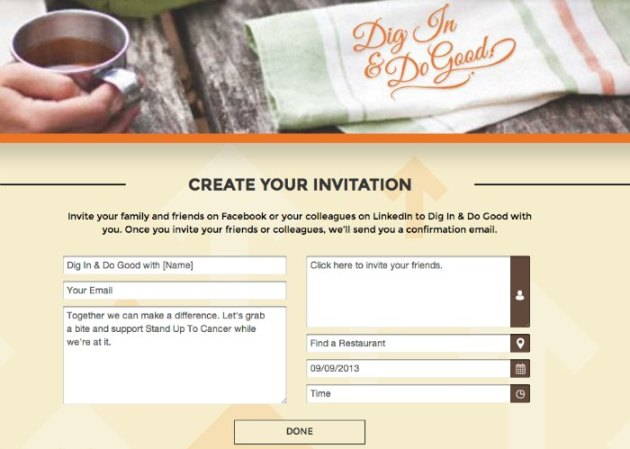 MasterCard Dig In & Dine Out Book a Table #MC