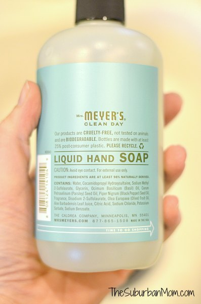 Mrs. Meyers Clean Day Hand Soap Basil