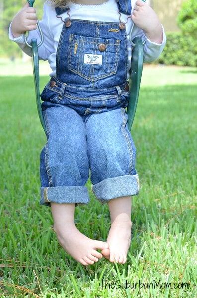 OshKosh B'gosh Overalls Jean