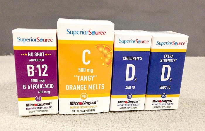 Superior Source Vitamin Prize Pack