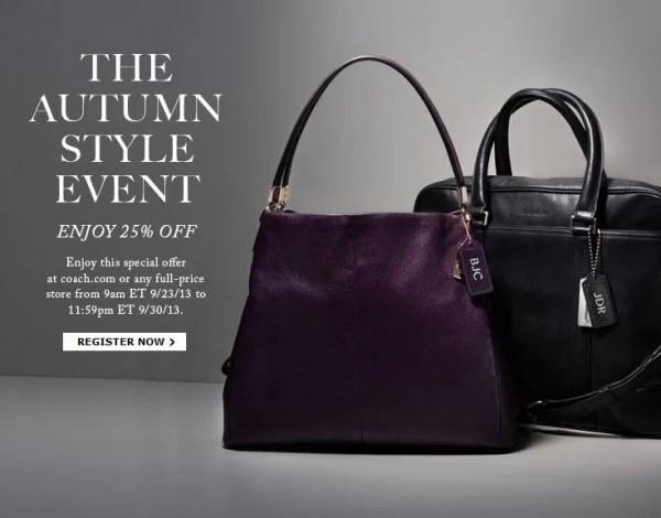 coach-autumn-style-25-percent-coupon