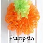 DIY Pumpkin Wreath Tutorial