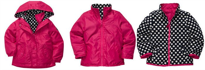 Oshkosh B'Gosh 4 in 1 jacket
