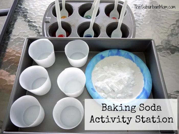 Baking Soda Experiment Volcano Craft