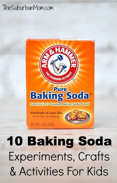 Baking Soda Experiments, Activities Crafts Kids