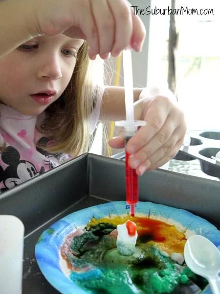 Baking Soda Science Experiment Activity