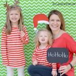 DIY Photobooth And Free Printable Christmas Props