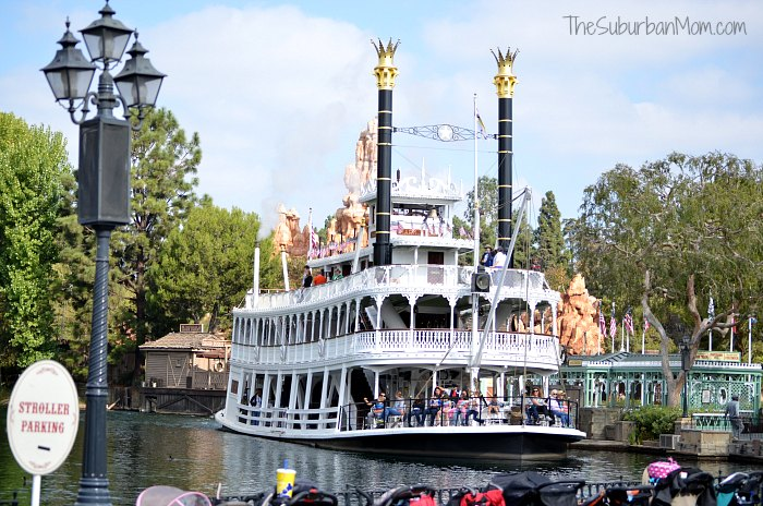 Disneyland Ferry Boat