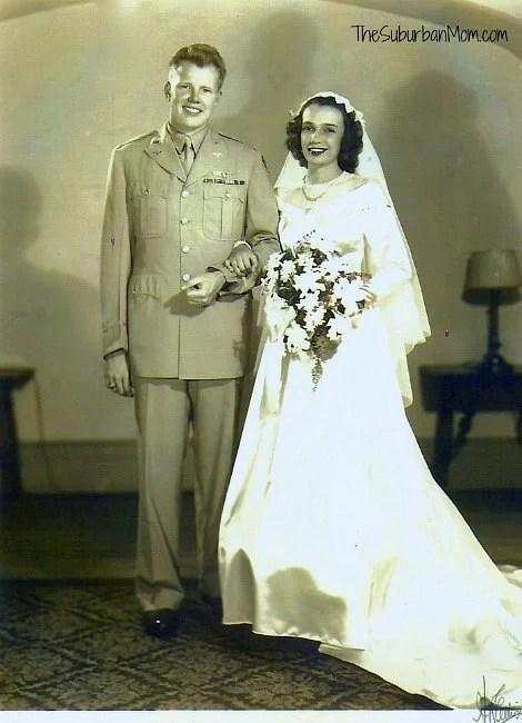 Grandma Grandpa Wedding Army