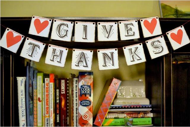 Thanksgiving Free Printable Banner 6