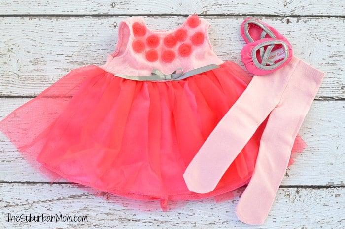 Bitty Baby Ballet Costume