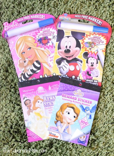 Disney Coloring Books Stickers