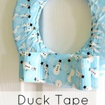 Duck Tape Wreath Tutorial
