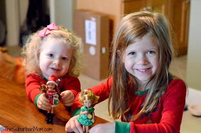 Elf on the Shelf Barbie