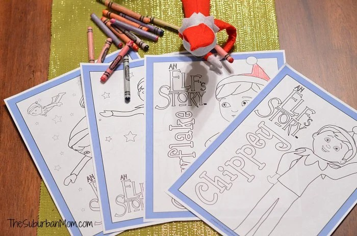 Elf On The Shelf Free Printable Coloring Pages ...